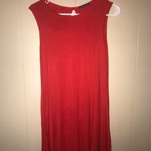 Red Shift T-Shirt Dress